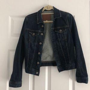 AG Dark Wash Jean Jacket